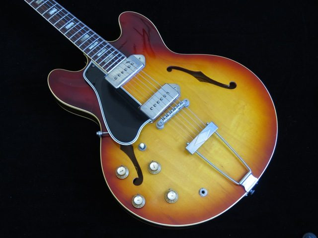 Lefty 1965 Gibson Es 330td With 1964 Features Exc