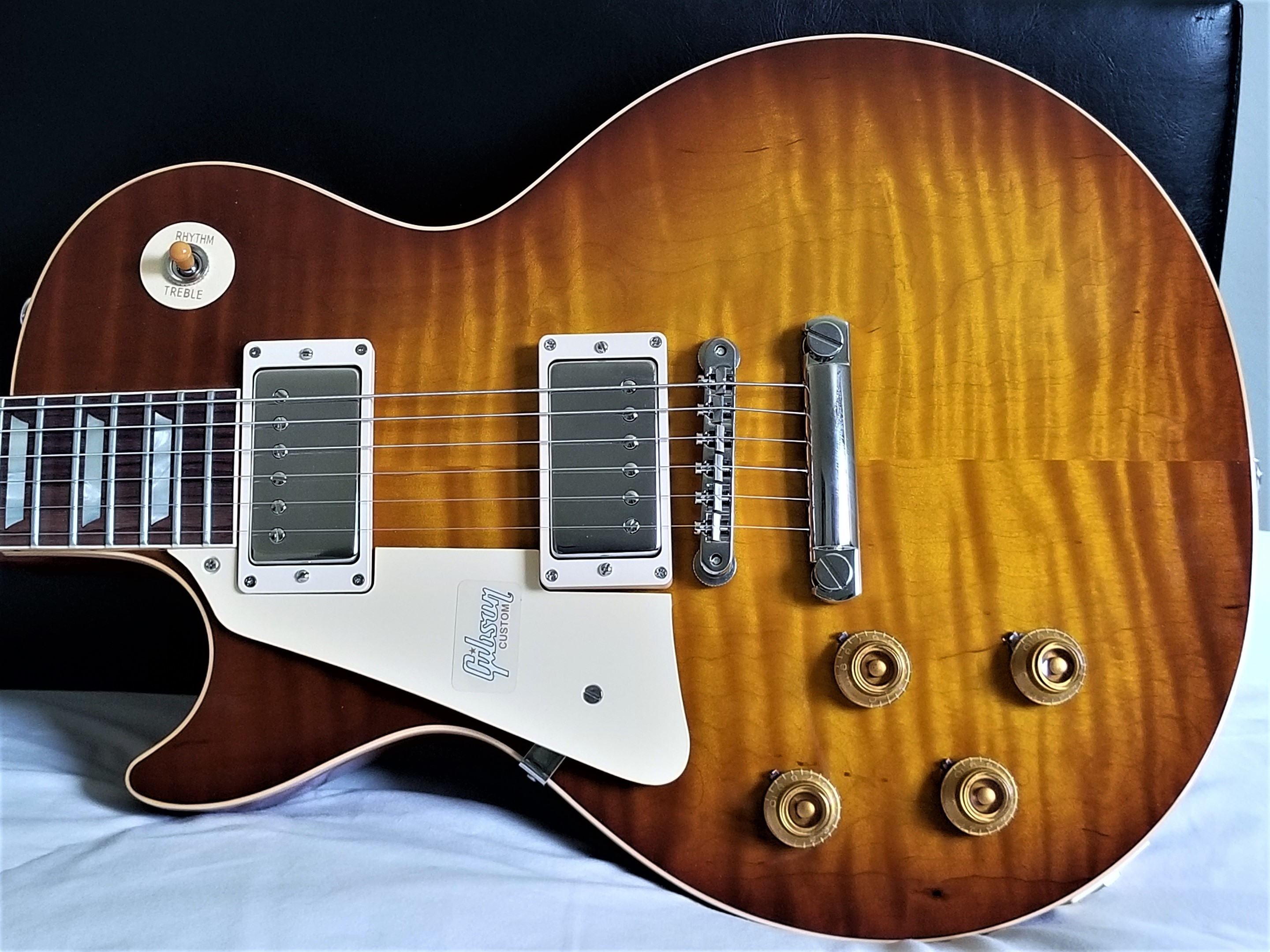 Lefty Vintage Guitars Pre Wired Les Paul Wiring Harness 2018 Gibson Historic 1959 R9 New With Coa Ohsc Magnificent Top